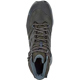 The North Face Hedgehog Hike Mid GTX Shoes Men Beluga Grey/Dark Slate Blue